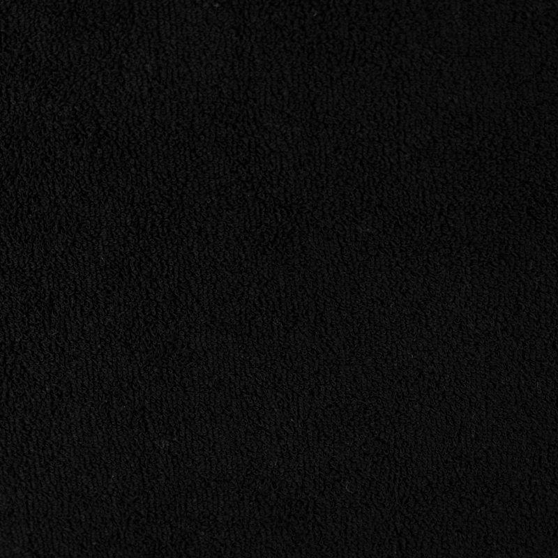 Czarne prześcieradło z gumką 180x200 FROTTE Czarny Prześcieradło z Gumką 180x200 Czarne
