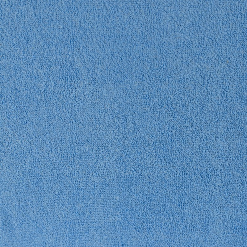 Niebieskie prześcieradło z gumką 180x200 FROTTE Niebieski Łóżko 180x200 Jakie Prześcieradło