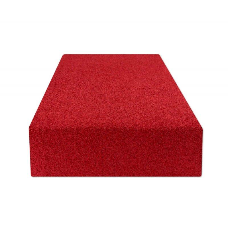 Prześcieradło z gumką 180x200 FROTTE Czerwony Jakie Prześcieradło z Gumką na Materac 180x200
