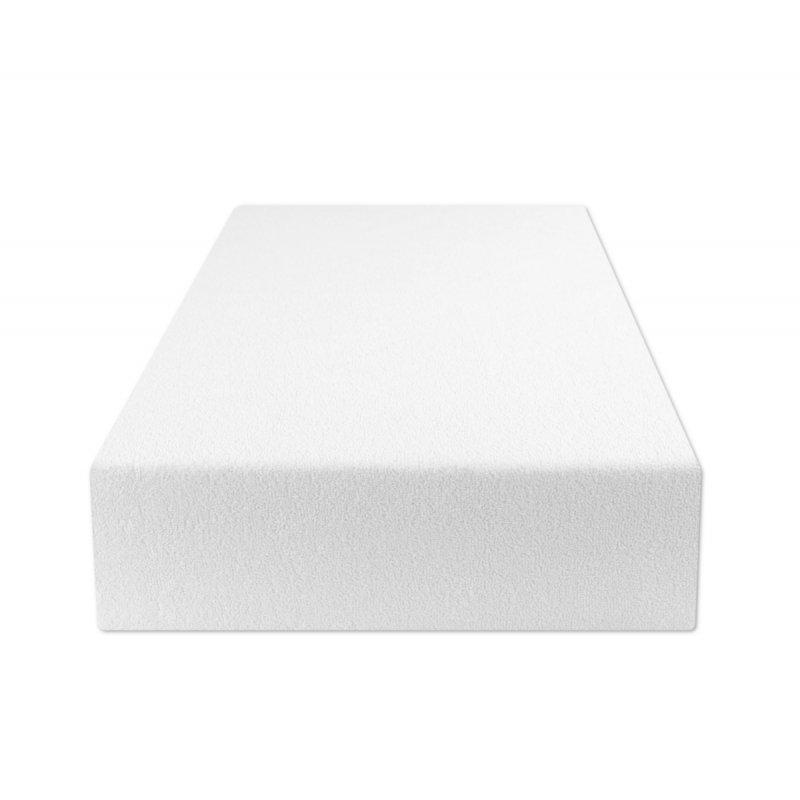 Białe prześcieradło z gumką 180x200 FROTTE Biały