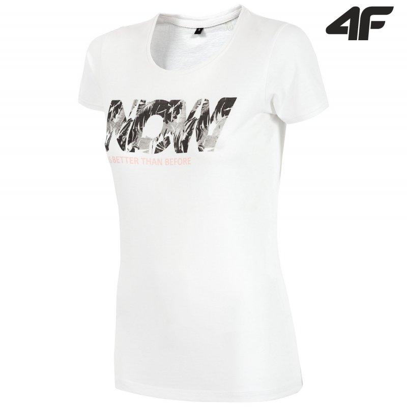 T-shirt damski 4F TSD008 (biały)