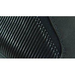 Fantazyjne botki na koturnie (czarne)
