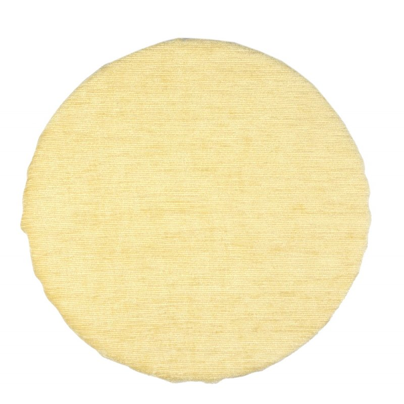 Okrągła poduszka na taboret 30 cm (krem) Okrągła Poduszka na Krzesło Poduszka na Krzesło Ecru