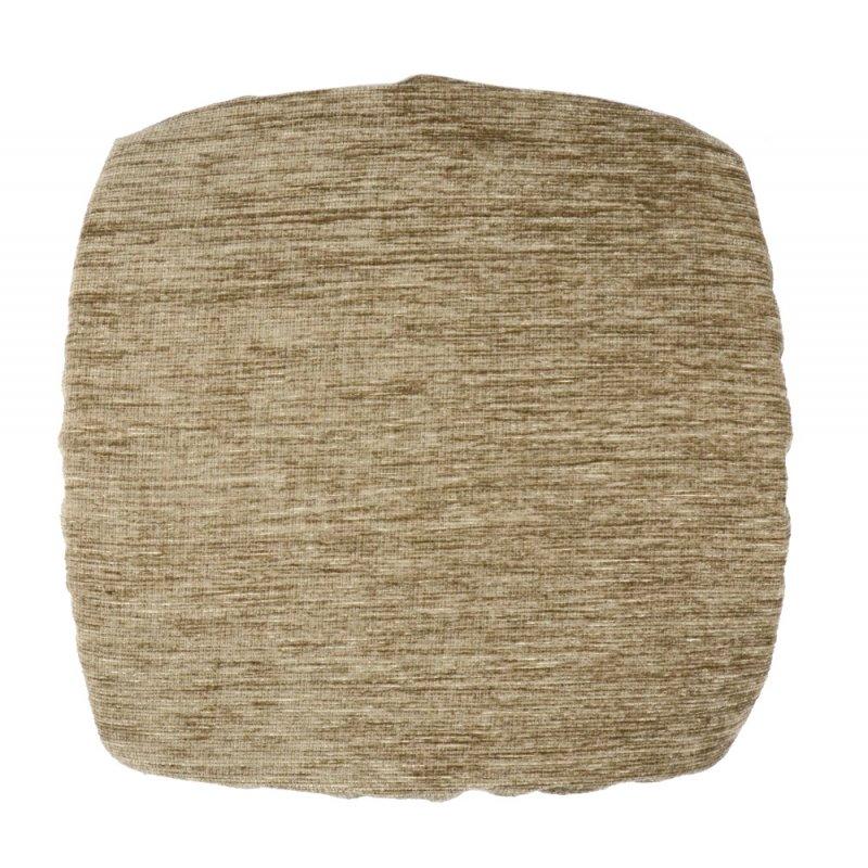 Kwadratowa poduszka na taboret 30x30 cm (beż soft)