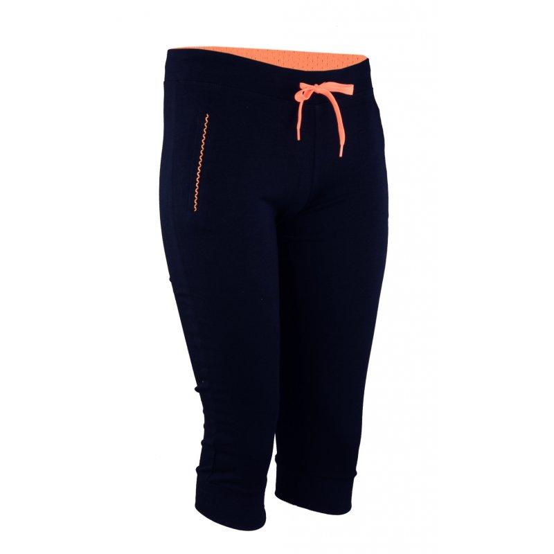 Spodnie dresowe sportowe RYBACZKI- oranż