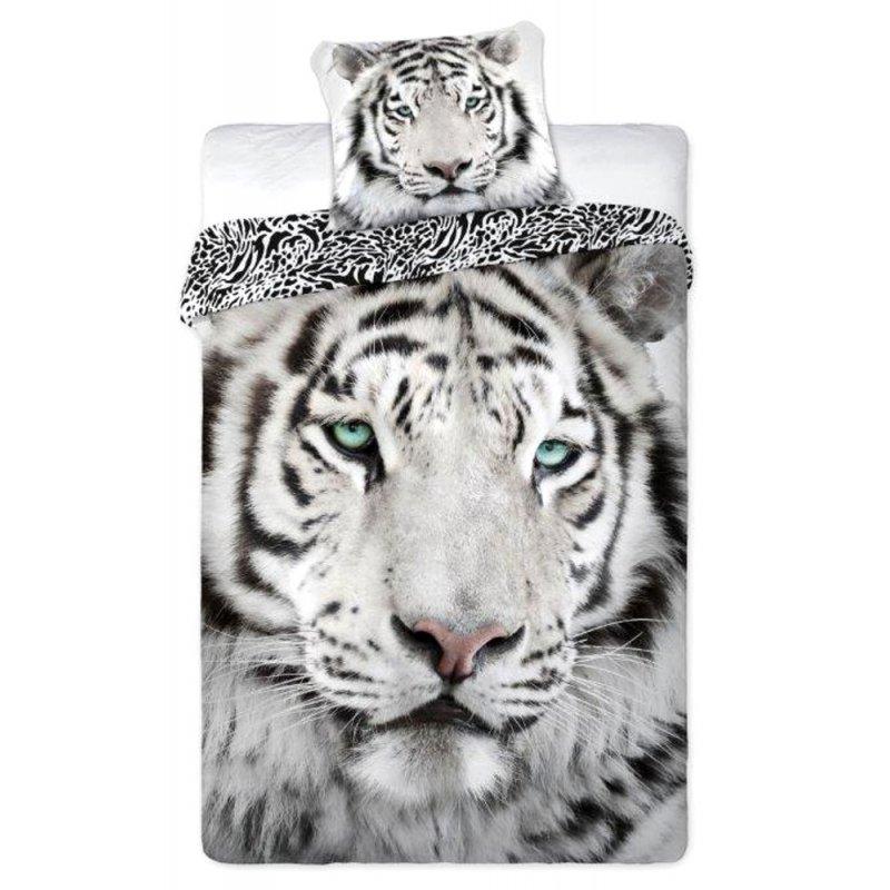 Pościel 3D z tygrysem 160x200 Bawełniana WILD NATURE Pościel 3D Tygrys