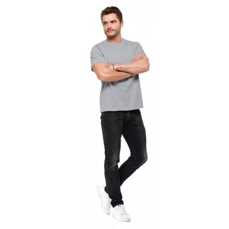 T-shirt męski MORAJ 100 % bawełna (szary)
