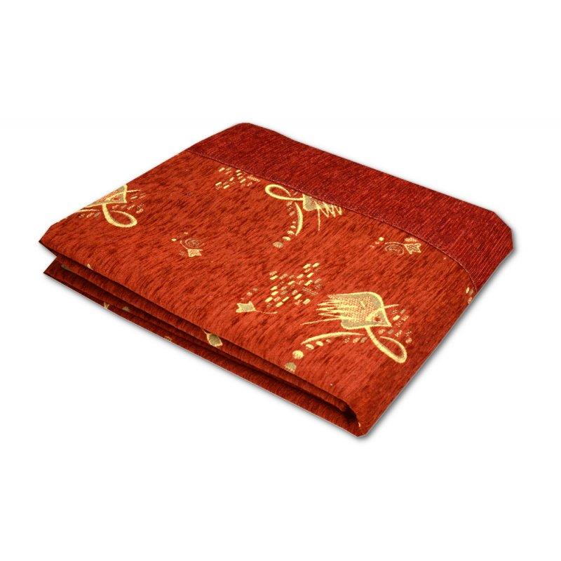 Czerwona Narzuta na Łóżko 160x200 na Kanapę 3814