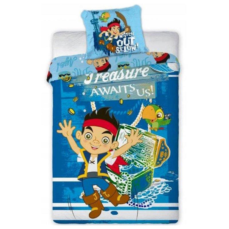 Pościel JAKE i Piraci z Nibylandii 160x200 100% Bawełna Pościel Disney 160x200 Pościel dla chłopca