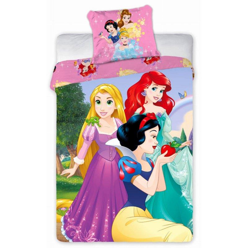 Pościel Księżniczki Disney 160x200 100% Bawełna Princess 055 Pościel w Księżniczki Pościel z Księżniczkami