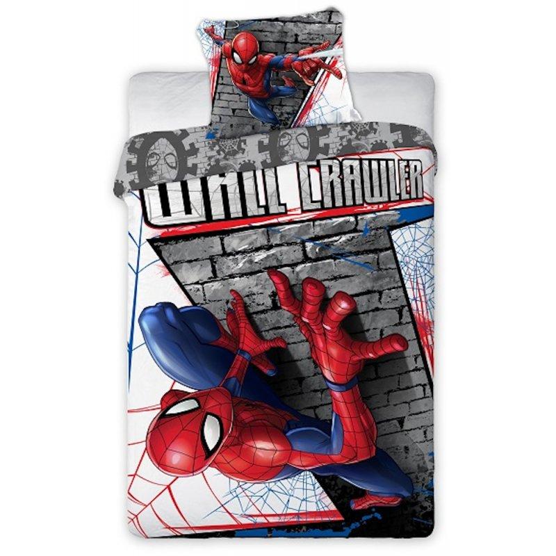 Pościel Spider Man 160x200 Bawełniana 033 Pościel ze Spidermanem Pościel dziecięca 160x200 Pościel 160x200 Chłopiec