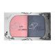 Komplet ręczników na prezent 2cz Mąż Żona MZ-3955 Komplet Ręczników Mąż Żona