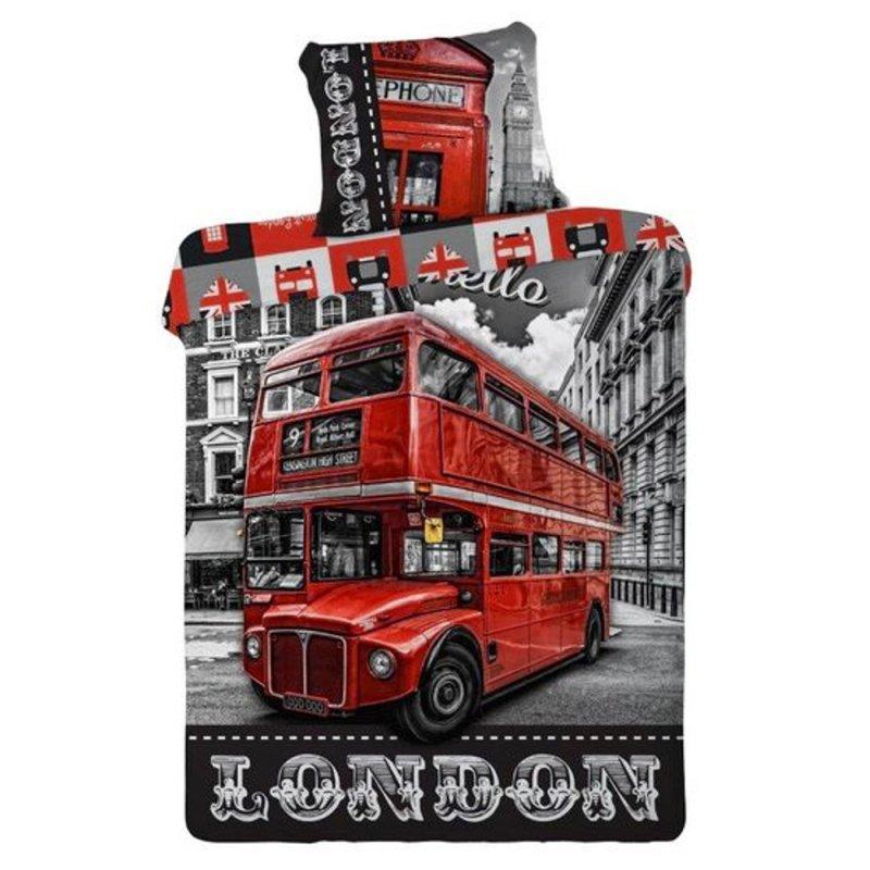 Pościel Młodzieżowa 140x200 100% Bawełna LONDYN Pościel 3D 140x200 bawełna Pościel 3D Londyn