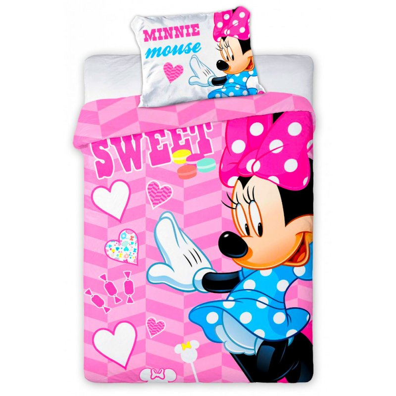 Pościel 100x135 Minnie Mouse 05 Pościel Niemowlęca 100x135 Pościel 100x135 Disney Pościel 100x135 Bawełna Pościel 100x135