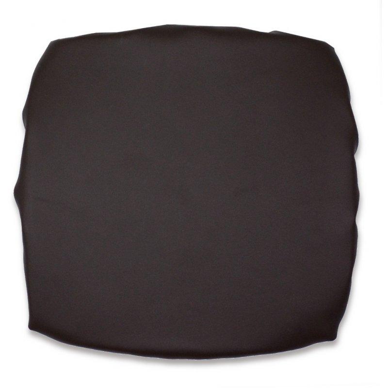 Kwadratowa poduszka na taboret 30x30 BRĄZOWY SKAJ - 4470 Pokrowiec Na Taboret Skaj