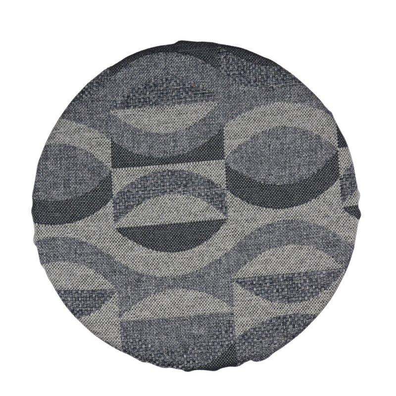 Okrągła poduszka na taboret 35 cm 4520 WZÓR