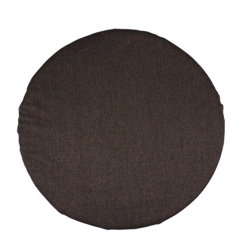 Okrągła poduszka na taboret 35 cm 4523 TKANINA