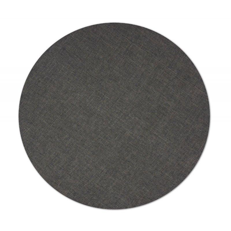 Okrągła poduszka na taboret 35 cm 4533 TKANINA