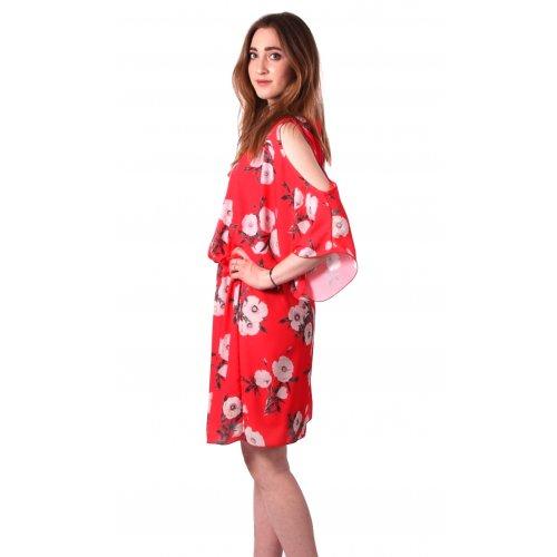 Sukienka w kwiaty KIMONO