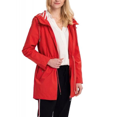 Płaszcz damski J-ELLI - czerwony