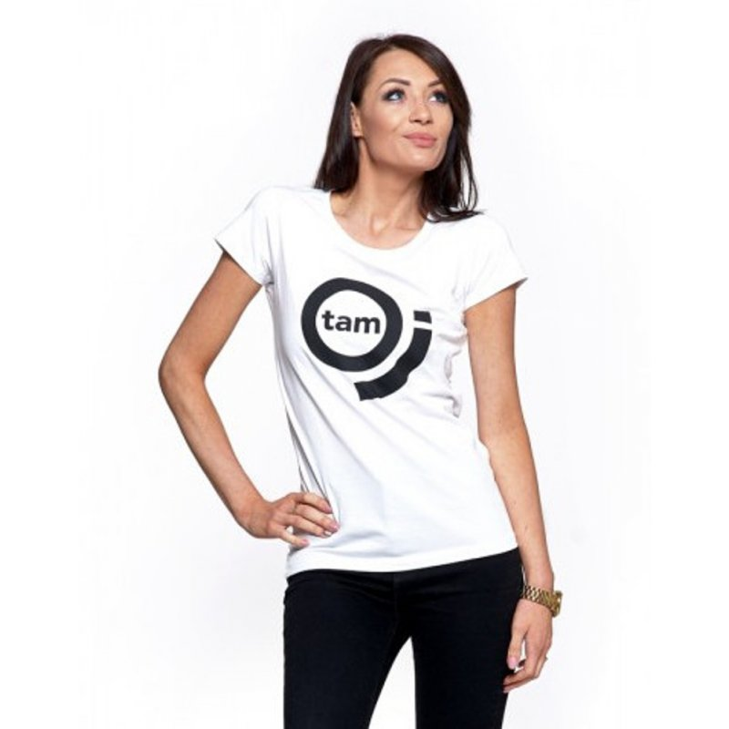 Koszulka damska MORAJ BD1100-517- biała Klasyczna koszulka damska biała Koszulka Moraj