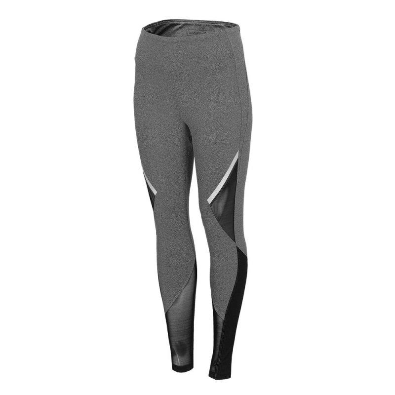 Damskie legginsy Outhorn - szare legginsy sportowe damskie legginsy fitness