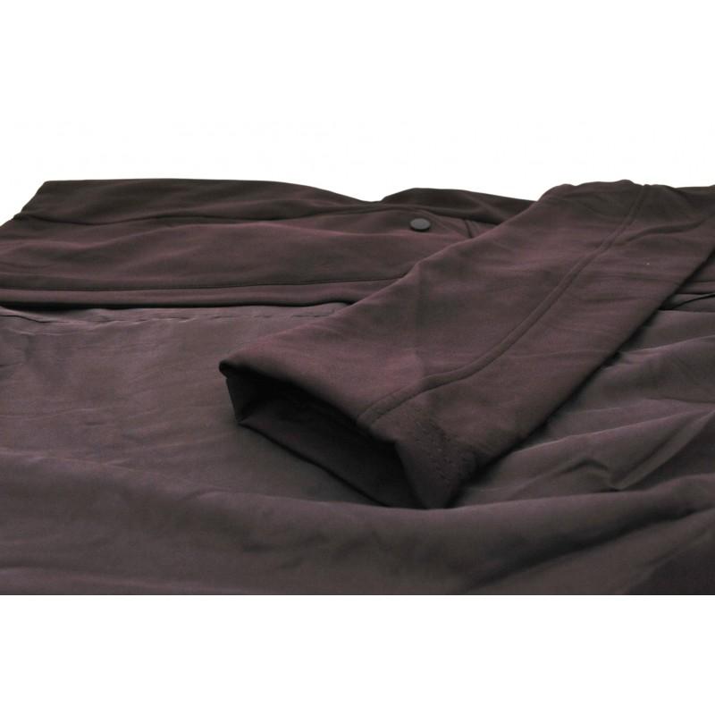Płaszcz typu SOFTSHELL supersoft (śliwka)