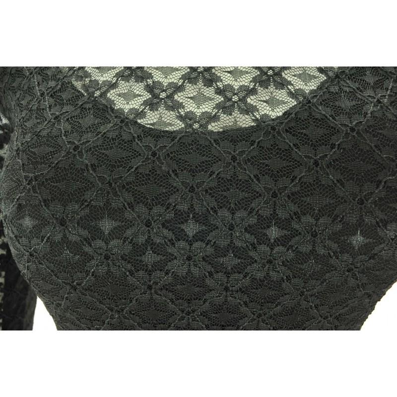 Sukienka z koronki Paris Chic (czarna)