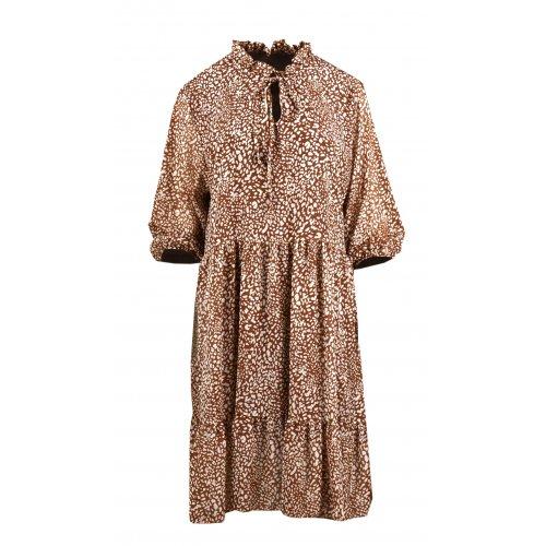 Sukienka szyfonowa PANTERKA - 5395