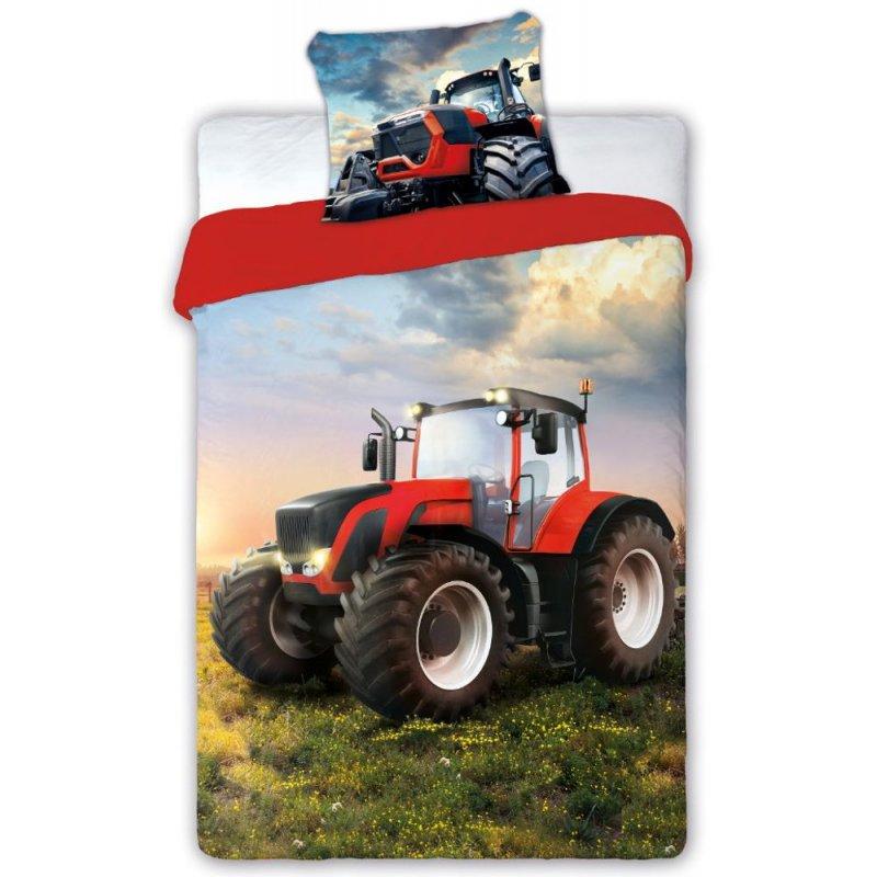 Pościel 3D 140x200 TURBO Traktor Pościel Bawełniana 140x200 Pościel w Traktory Pościel 140x200 Pościel Faro Pościel Młodzieżowa