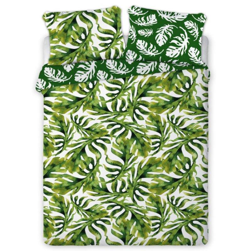 Pościel w Liście 160x200 100% Bawełniana Tropical Island 005 Pościel liście Pościel bawełniana 160x200 Pościel Tropical Pościel