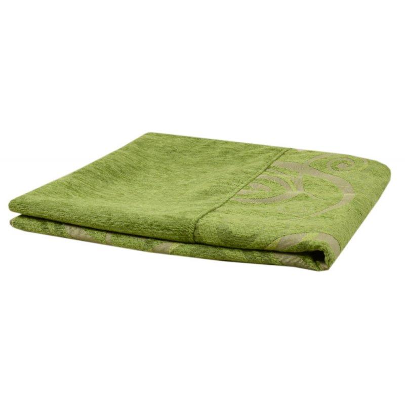 Zielona Narzuta na Łóżko 160x200 na Sofę na Wersalkę 5831 Nowoczesna Narzuta Seledynowa Elegancka Narzuta na Wersalkę