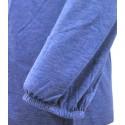 Bluzka ETNO PIÓRA (niebieska)