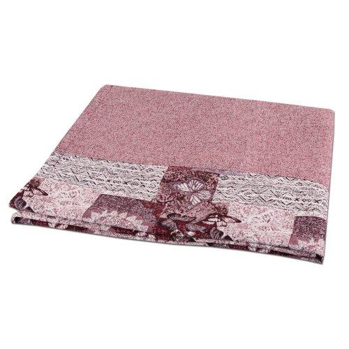 Różowa Narzuta 160x200 na Sofę na Wersalkę 6281