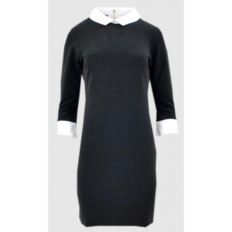Sukienka pensjonarka (czarna)