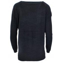 Sweter z cekinowym pieskiem (czarny)