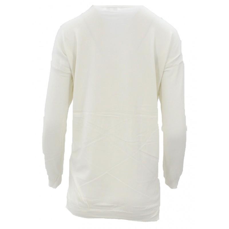 Sweter z cekinowym pieskiem (kremowy)