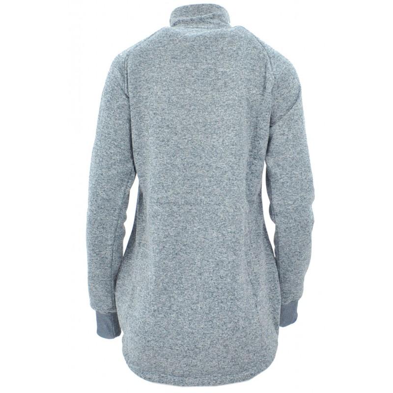 Bluza na stójce z zamkami (j.zielona)