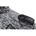 Bluza XL+ z kapturem (szary melanż)