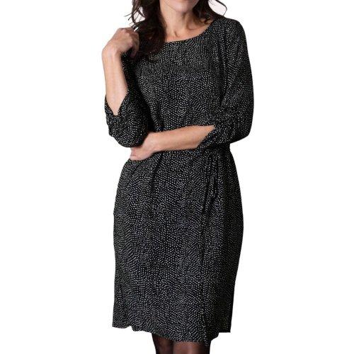 Sukienka w kropki G-MOSA -  czarna