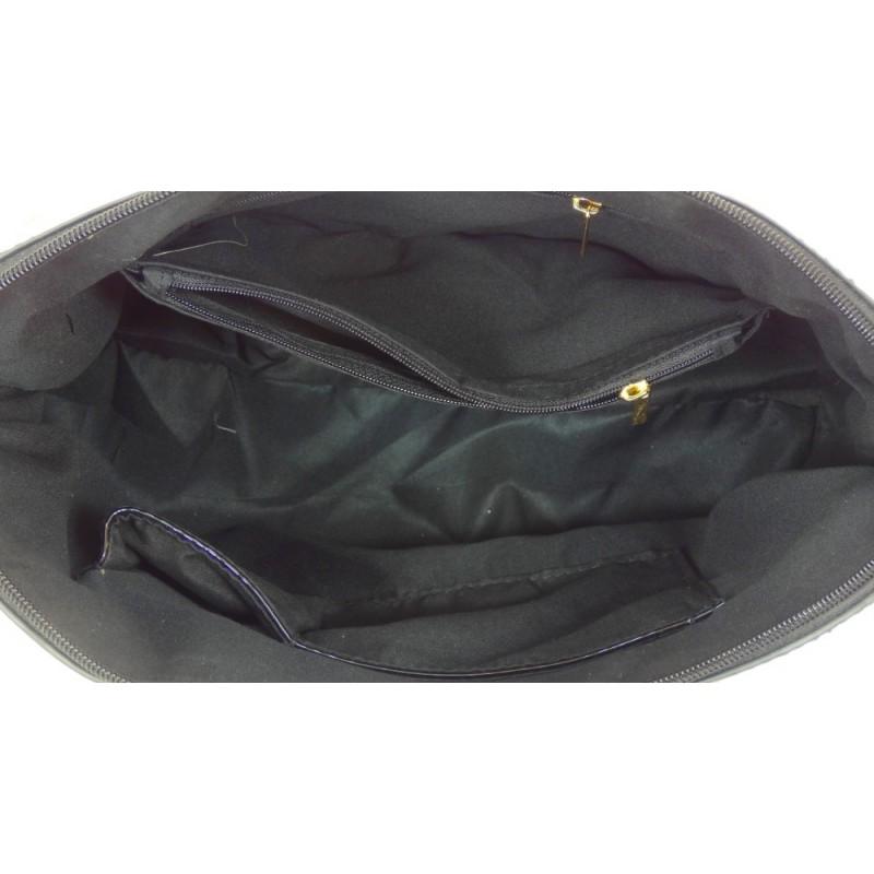 Torebka lakierowana (czarna)