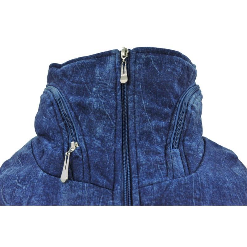 Bluza/kurtka ala jeans (jasna)
