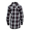 Koszula w kratę z aplikacjami 2 (czarna)
