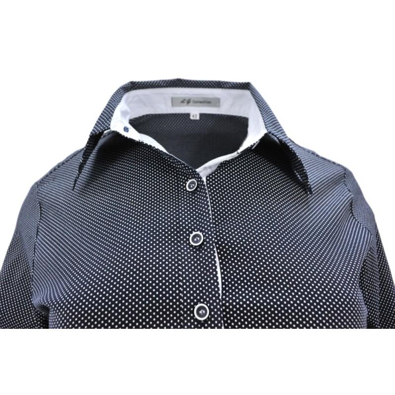 Koszula w małe kropki DUŻY ROZMIAR