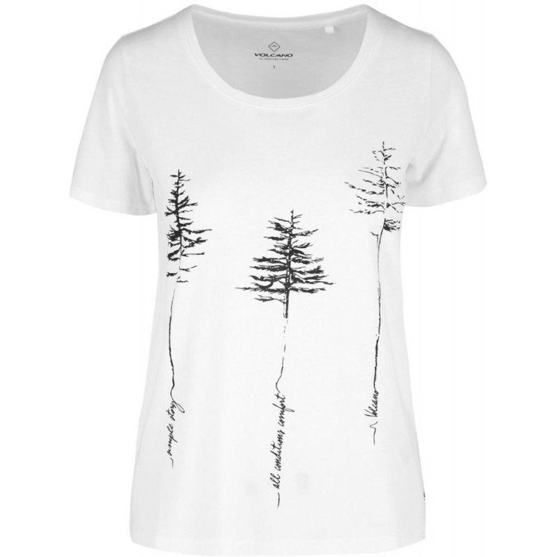 Koszulka damska T-REES - biała