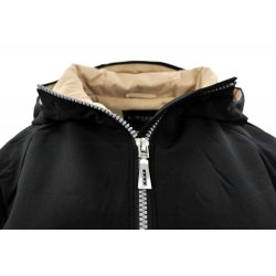 Płaszcz/kurtka typu SOFTSHELL DUŻY ROZMIAR (czarny)