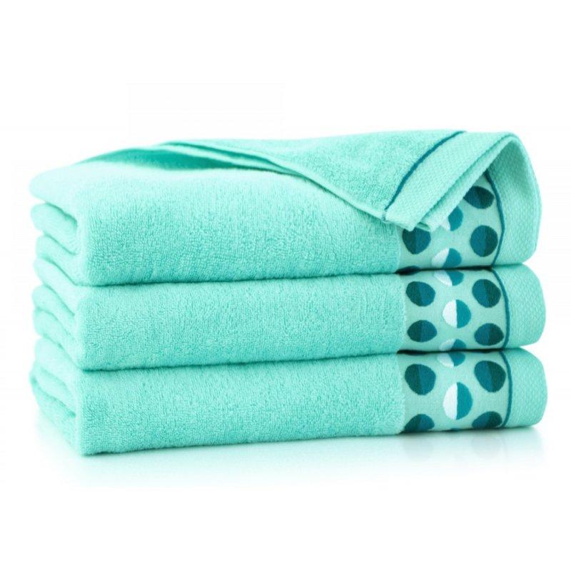 Ręcznik Zwoltex Zen 2 Miętowy Ręczniki kąpielowe Ręczniki frotte Ręczniki z bawełny egipskiej Ręczniki bawełniane łazienkowe