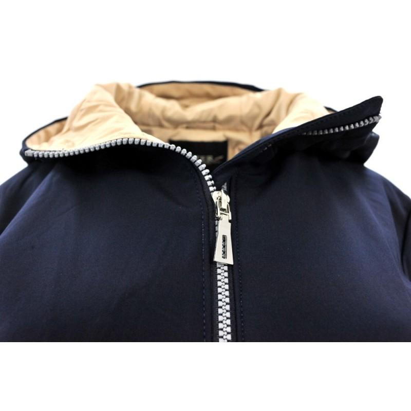 Płaszcz/kurtka typu SOFTSHELL DUŻY ROZMIAR (granatowy)