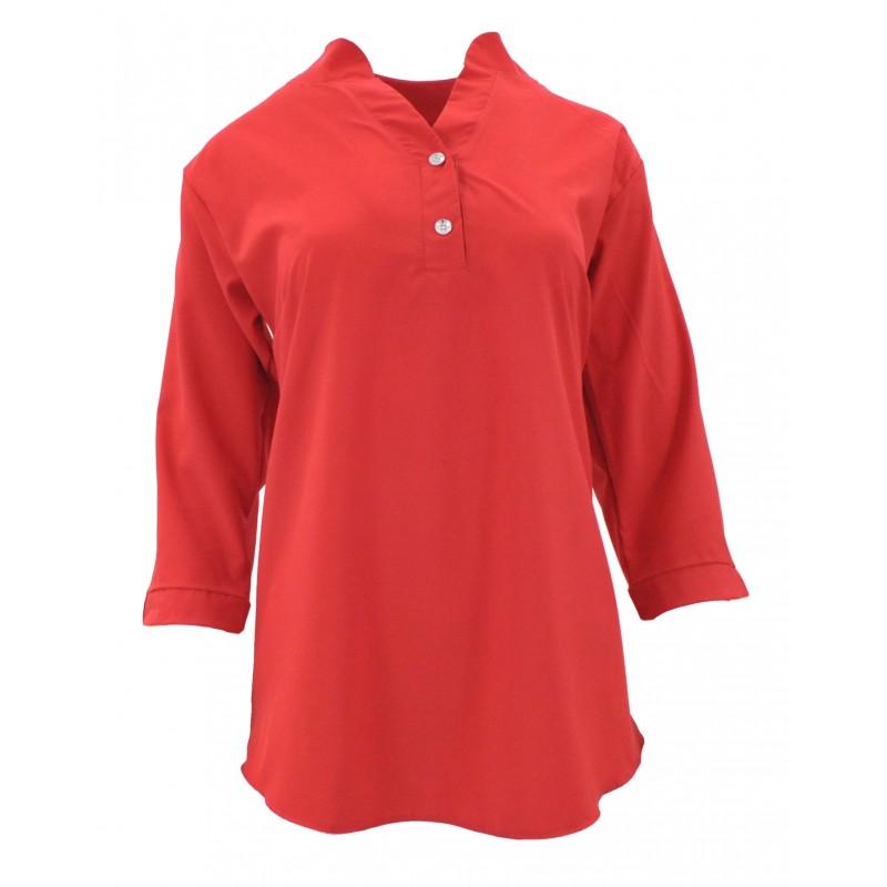 bluzka damska czerwona