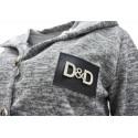 Bluza/narzutka D&D (szary melanż)